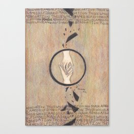 Abnegation. Canvas Print