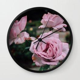 Purple Velvet. Wall Clock