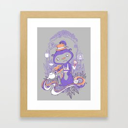 Tea Monkey Tea Party Framed Art Print