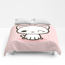 Kawaii Kitty 3 Comforters