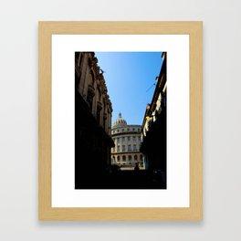 Shady Cuba  Framed Art Print