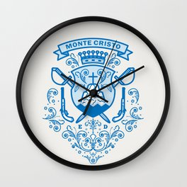 Count of Monte Cristo Wall Clock
