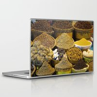 egyptian Laptop & iPad Skins featuring Egyptian Spices by Brian Raggatt