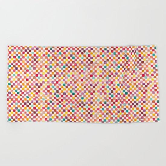Klee Pattern Beach Towel