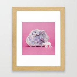 My plastic friends.  Framed Art Print