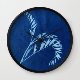 Herbal Sunprint #2 Wall Clock