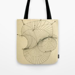 Fluid Dynamics Tote Bag