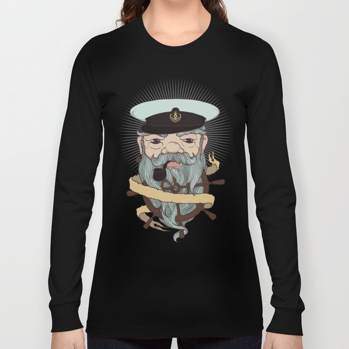 Sea wolf Long Sleeve T-shirt