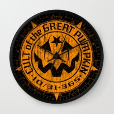Cult of the Great Pumpkin: Alchemy Logo Wall Clock