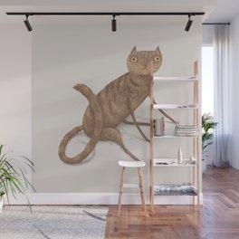 Gangly Cat Wall Mural