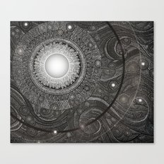 Luna Kiss Canvas Print