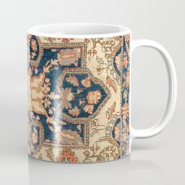 Ferahan  Antique West Persian Rug Print Coffee Mug