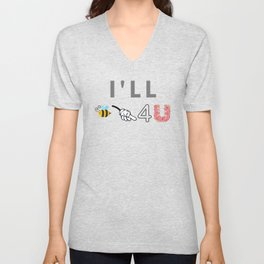 I'll Be There For You Unisex V-Neck