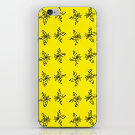 Nature Abstract Yellow Pattern iPhone Skin