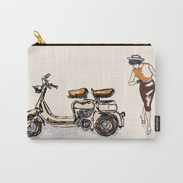Fashion statement of the 60s! Carry-All Pouch