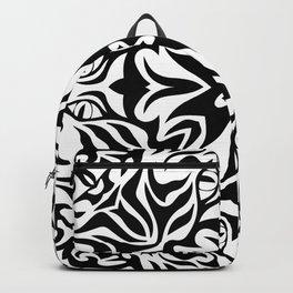 Polynesian style tattoo mandala Backpack