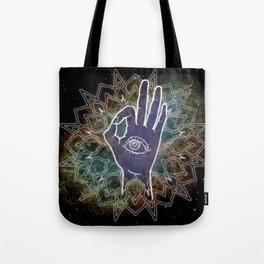 Gyan Mudra Hand Posture Tote Bag