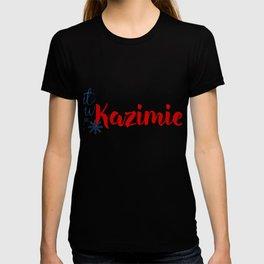 Snow in Kazimierz T-shirt