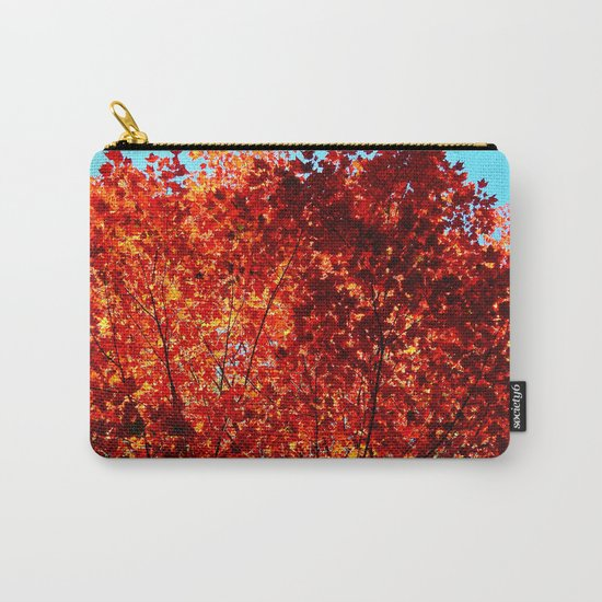 Red Maple Explosion Carry-All Pouch