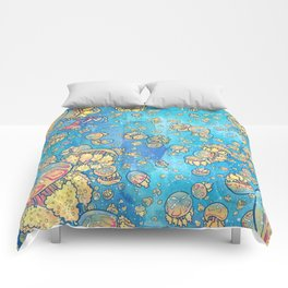 Jellyfish Lake Comforters