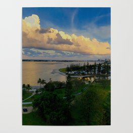 Panorama of The Gold Coast Poster