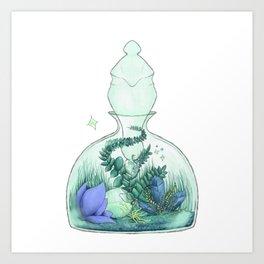 Magical Terrarium Art Print