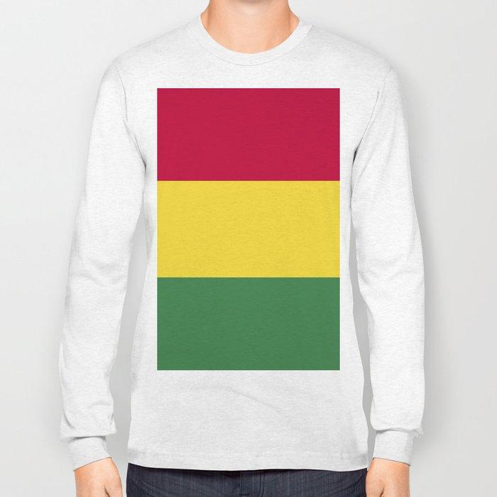 Bolivia flag emblem Long Sleeve T-shirt