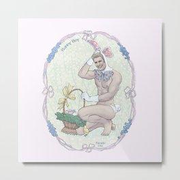 Bunny Boy Steve Metal Print