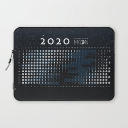 Moon calendar 2020 #1 Laptop Sleeve