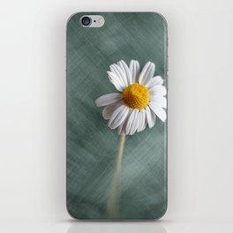 White Chamomile iPhone Skin