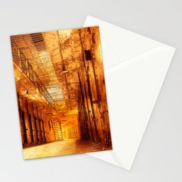 Infernal Prison Corridor Stationery Cards