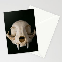Cat Skull Stationery Cards