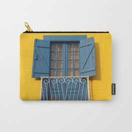 Yellow Blue House in Aveiro, Portugal Carry-All Pouch