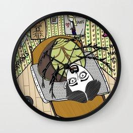 Franz Kafka Metamorphosis Wall Clock