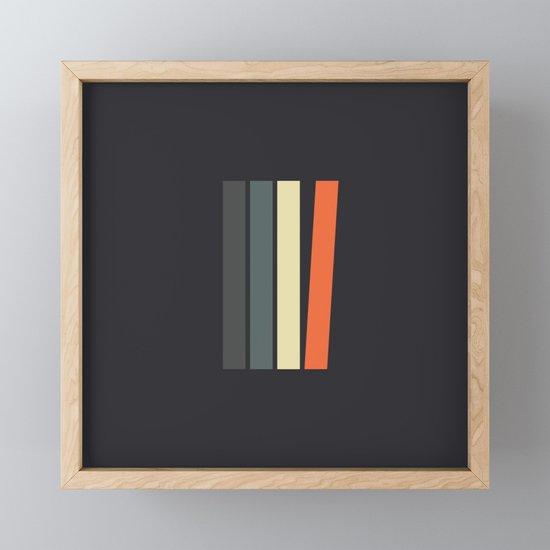 Minimal Dark Graphic Design Art - Abaia by alphaomega