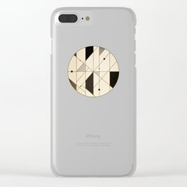 Irregular Sequence Clear iPhone Case