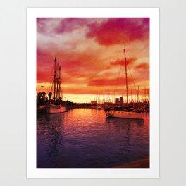 Spanish Marina II Art Print