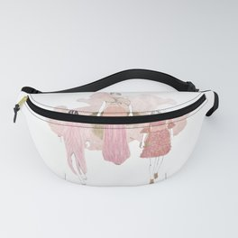 Pink and Gold Fanny Pack