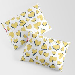I Hart You Pillow Sham