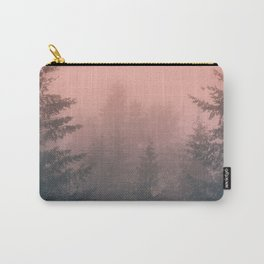 Pink Forest Carry-All Pouch