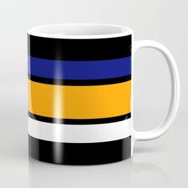 TEAM COLORS 2....navy, orange, white Coffee Mug