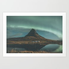 Kirkjufell, Iceland Art Print