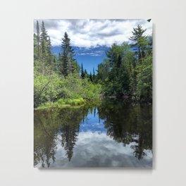 Idaho Reflections Metal Print