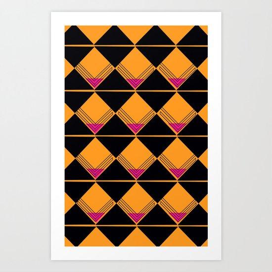 Scotch on the Rox Art Print