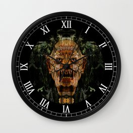 Soulless Corpse Wall Clock