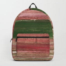 Light taupe abstract watercolor Backpack