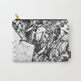 fish drawing Carry-All Pouch