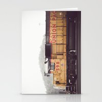 train Stationery Cards featuring Train by Kristine Ridley Weilert