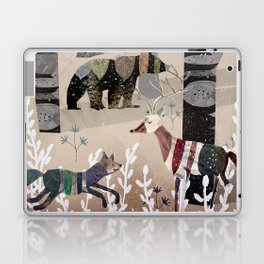 Forest in Sweater Laptop & iPad Skin