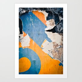 Urban Archaeology No. 35 Art Print